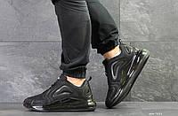 Мужские кроссовки Nike air max 720,плотная сетка,черные 44р, фото 1