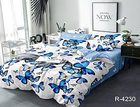 Комплект постельного белья с компаньоном двуспальный ранфорс R4230