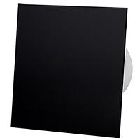 Витяжний вентилятор AirRoxy dRim 100 S BB BLACK панеллю чорний черный пластик