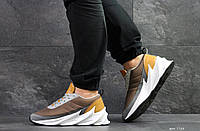 Мужские модные кроссовки Adidas Sharks,коричневые, фото 1