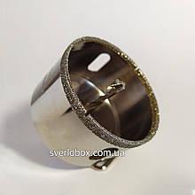 Коронка алмазная 70 мм по керамограниту с направляющим сверлом