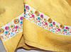 Рушник махровий Весна жовте 70х140, фото 2