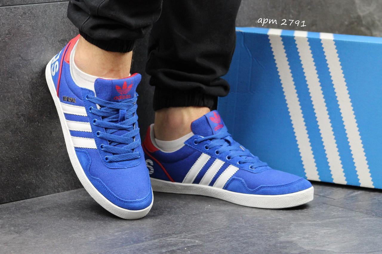 Мужские кроссовки Мужские кроссовки Adidas TURF ROYAL голубые