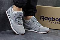 Кроссовки мужские Reebok Classica серые, фото 1