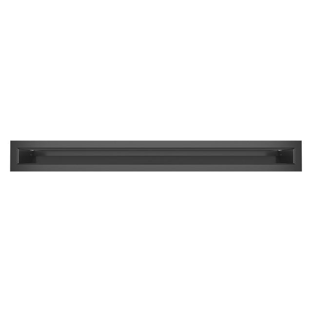 Вентиляційна решітка для каміна SAVEN Loft 60х600 графітова