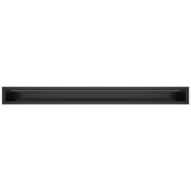 Вентиляційна решітка для каміна SAVEN Loft 90х1000 чорна