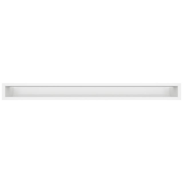 Вентиляційна решітка для каміна SAVEN Loft 90х1000 біла