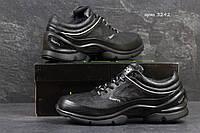 Мужские зимние кроссовки ECCO BIOM, черные 45р, фото 1
