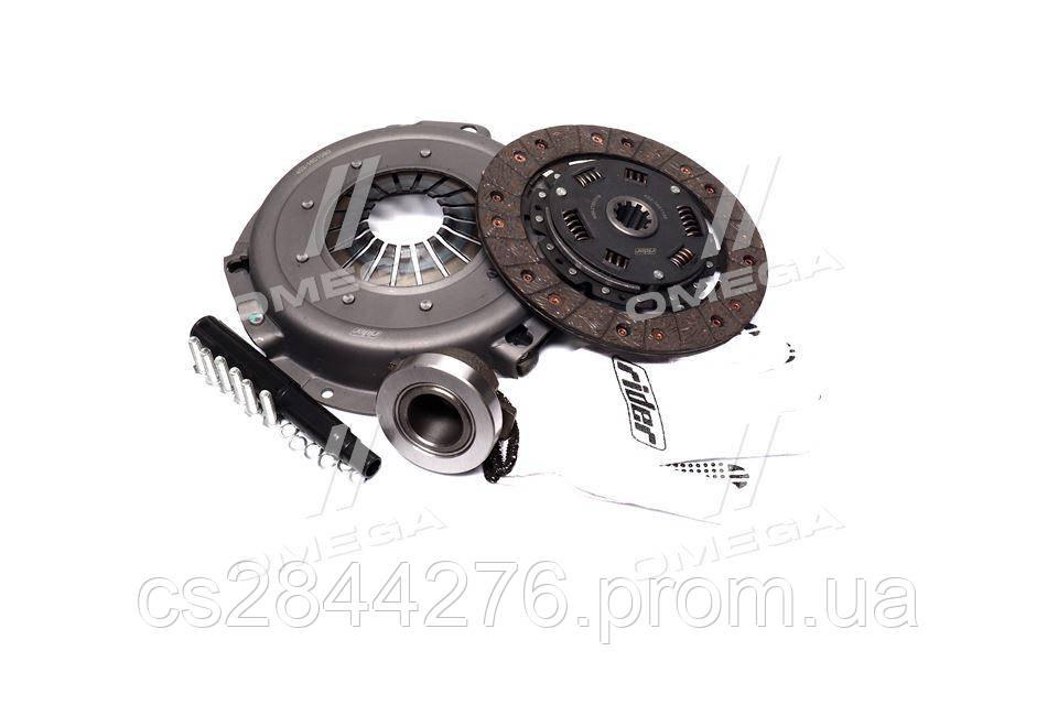 Сцепление ГАЗ 402 (диск нажимной+ведомый+подшник ) (RIDER) 402-1601000