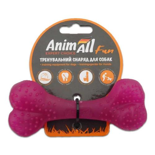 Игрушка AnimAll Fun кость, фиолетовая, 12 см