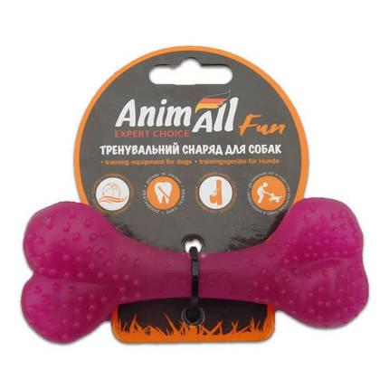 Игрушка AnimAll Fun кость, фиолетовая, 12 см, фото 2