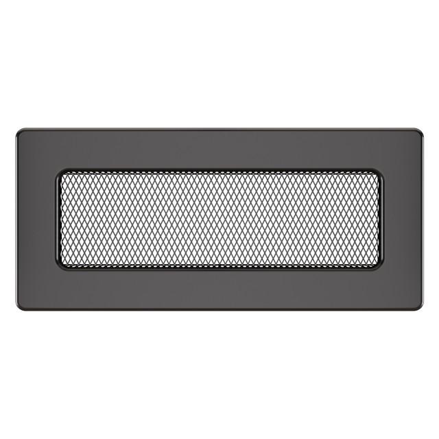 Вентиляційна решітка для каміна SAVEN 11х24 графітова