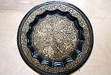 Сервіз бронзовий чорний (піднос ,6 чарок, глечик), фото 3