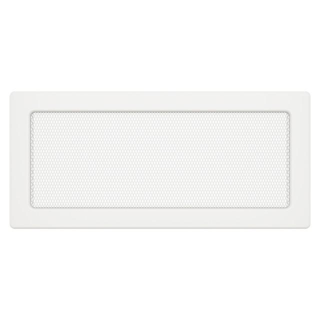 Вентиляційна решітка для каміна SAVEN 17х37 біла