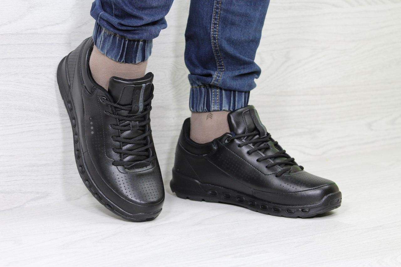 Мужские кроссовки Ecco Biom,черные
