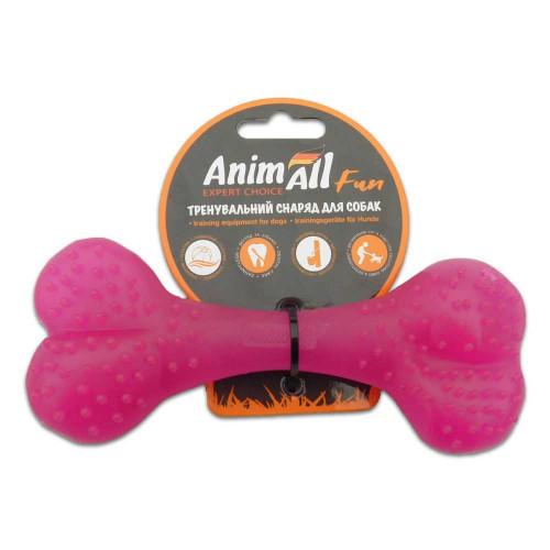Игрушка AnimAll Fun кость, фиолетовая, 15 см
