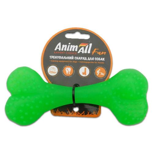 Игрушка AnimAll Fun кость, зеленый, 15 см