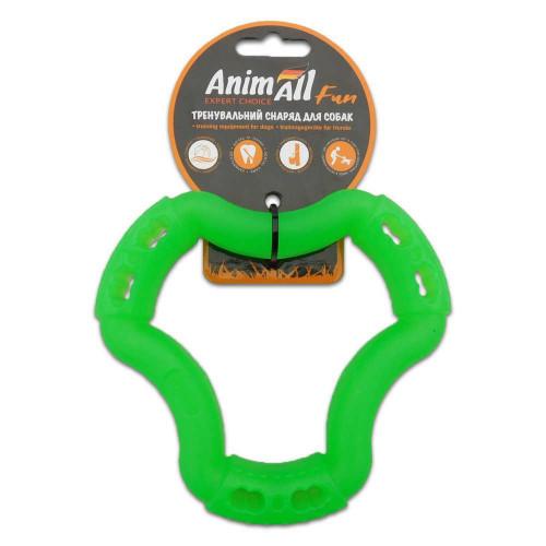 Игрушка AnimAll Fun кольцо 6 сторон, зеленый, 15 см