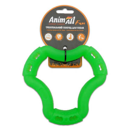 Игрушка AnimAll Fun кольцо 6 сторон, зеленый, 15 см, фото 2