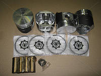 Поршень цилиндра ГАЗ двигатель 402 92,0 (палец+стопорные кольца+поршневые кольца) 4 шт в (покупн. ГАЗ) ДМ.53.1004013