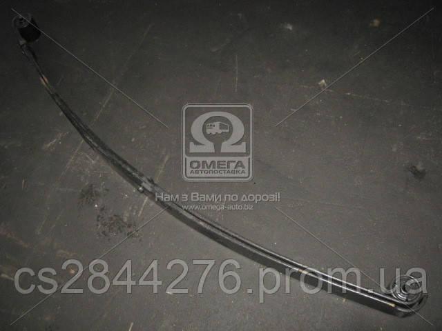 Рессора передний ГАЗ 3302 2-х листовой с укороченым ухом 1566 мм с сайлентблоком (пр-во Чусовая) 3302-2902012-12-10