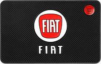 Противоскользящий коврик в машину Fiat (20х13 см) (10555)