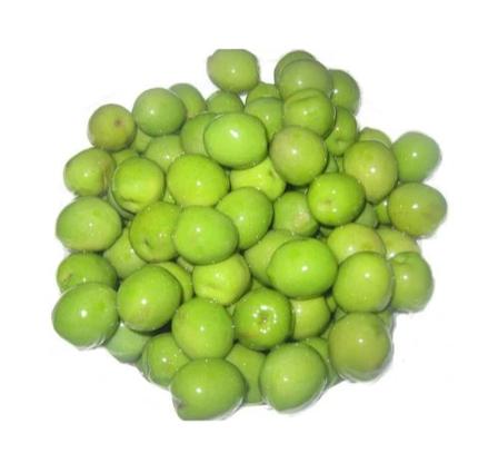 Оливки зелені Argos greek olives в пакеті з кісточкою 900г, фото 2