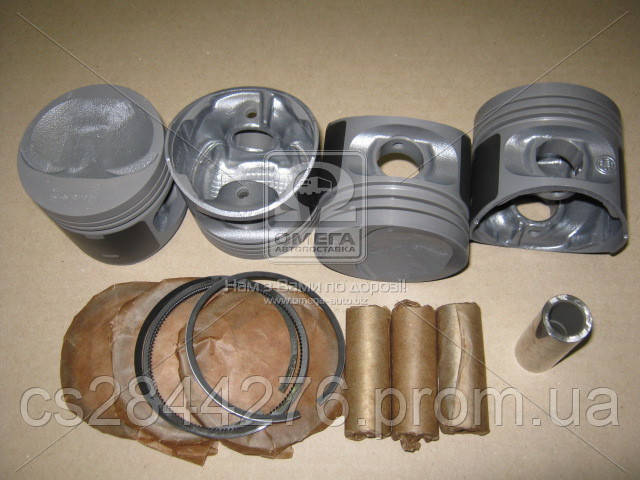 Поршень цилиндра ВАЗ 2108,21081 d=76,0 группа A Мотор Комплект (Black Edition/EXPERT+поршневой палец+поршневые кольца) (МД Кострома) 2108-1004018