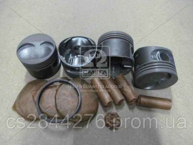 Поршень цилиндра ВАЗ 2110,2111 d=82,8 группа B Мотор Комплект (Black Edition/EXPERT+поршневой палец+поршневые кольца) (МД Кострома) 2110-1004018-БР