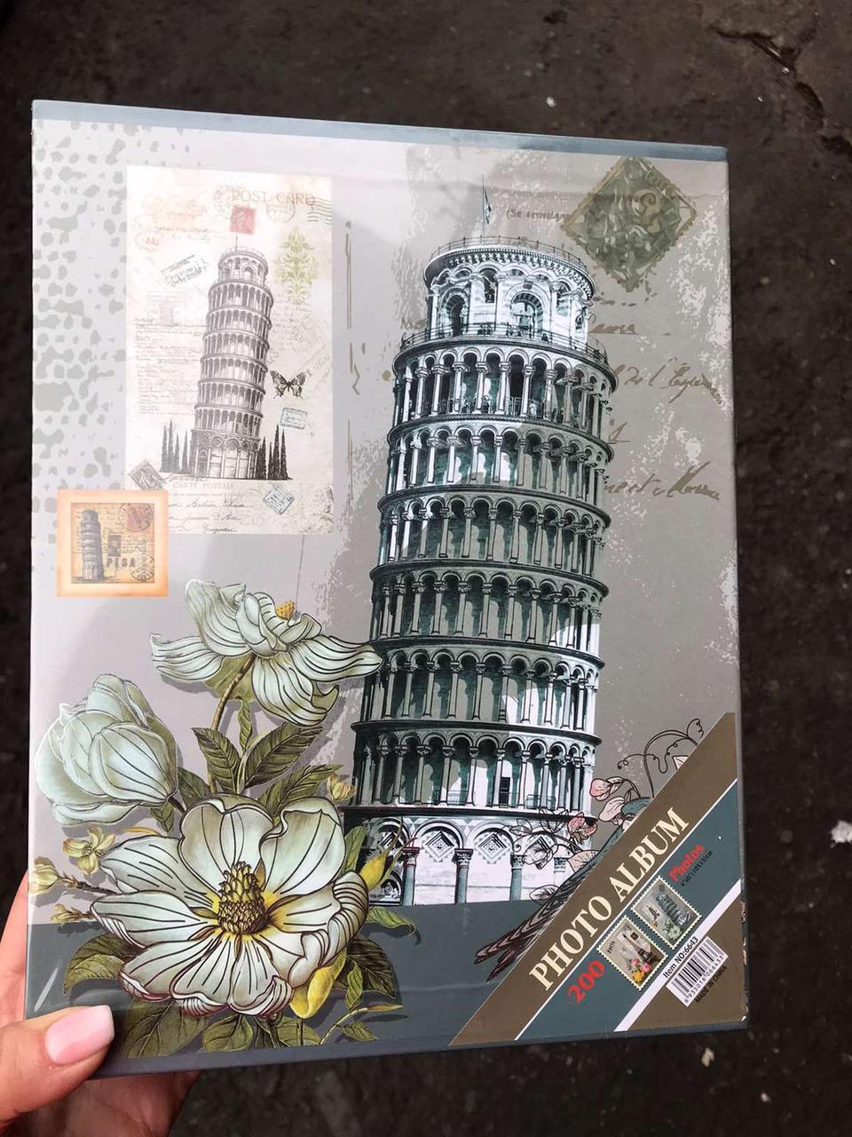 Фотоальбом Башня Veronese 200 фото 10х15см  0210J/B альбом для фото для фотографий