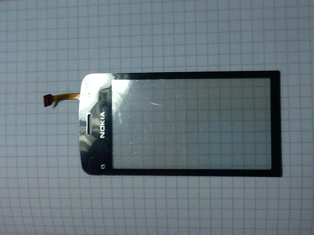 Сенсорний екран nokia c5-03, C5-06, чорний
