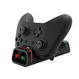Зарядная станция для контролеров Microsoft Xbox One S X Wireless Controller с 2 ПоверБанками по 800 мАч Dobe, фото 6