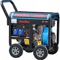 Дизельный генератор однофазный 6.5 кВт EnerSol SKD-7E(B) (SKD-7E(B))