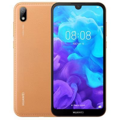 Мобильный телефон Huawei Y5 2019 Brown Faux Leather (51093SHE)