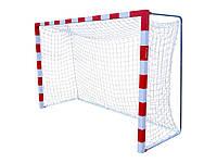 Профессиональная сетка для мини-футбола, гандбола: глубина 1,1 м.; шнур 5,5 мм. #F/B