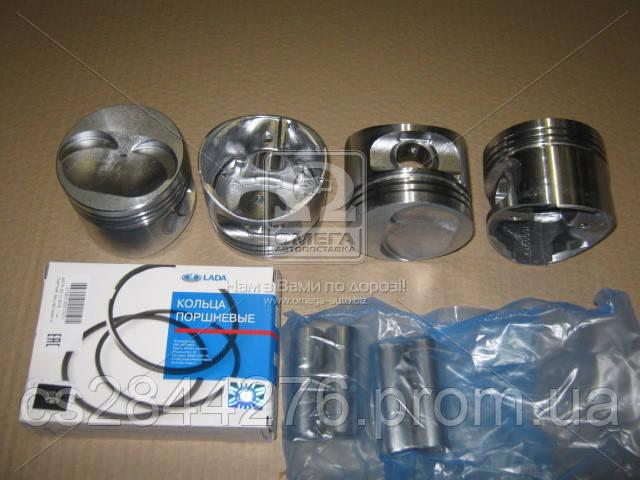 Поршень цилиндра ВАЗ 21083 82,4 (1-й ремонтный размер) (поршень+палец+поршневые кольца) Мотор Комплект (про-во АвтоВАЗ) 21083-1004015-87