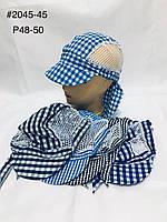 Дитяча панамка в клітинку р. 48-50