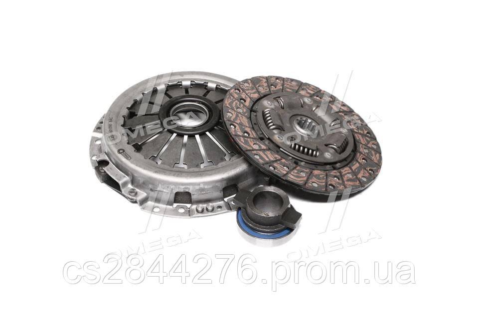 Сцепление (комплект ) (диск+корзина+выжимная муфта) ГАЗ двигатель 402, 405, 406, 409 универсное (пр-во ТРИАЛ) 406-1601090