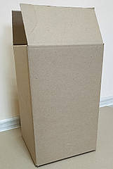 Коробка  20 л бурая квадрат П34  BAG in BOX