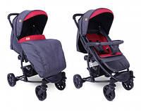 Прогулянкова коляска LORELLI S 300 black&red