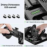 Многофункциональная Док-станция для Xbox One S X Зарядка контроллеров, Охлаждение Консоли, Хранение Дисков, фото 2