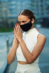 Дизайнерские кружевные маски с кармашком.