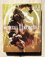 Mortal kombat 11 Steelbook (рус. суб) (б/у) PS4, фото 1