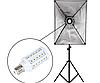 Лампочка кукуруза 360° - идеальный вариант для студийного света.