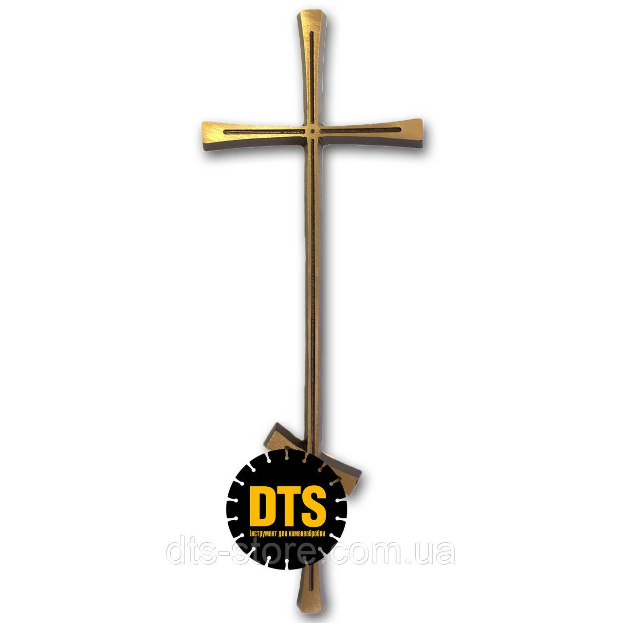 Крест бронзовый без распятия 30*11 см