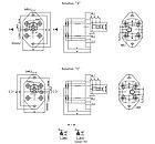 Шестеренчатый (шестерной) гидравлический насос Hydro-pack 00A(C)1X046 (серия 00), фото 2