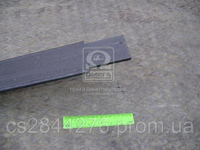 Лист рессоры №2 передний ГАЗ 33104 ВАЛДАЙ 1650 мм (пр-во ГАЗ) 33104-2902102-01