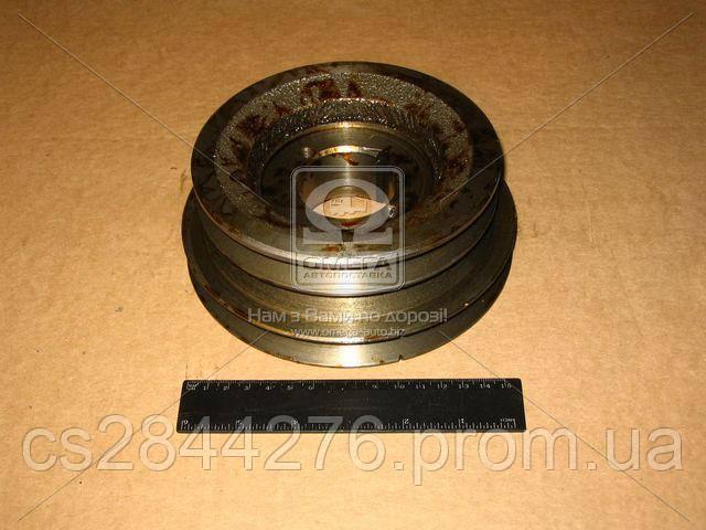 Шкив вала коленчатого (3-х ручейковый) (пр-во ЯМЗ) 238П-1005061