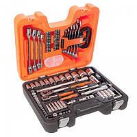 Комбинированный набор инструментов Bahco S910 Socket Set 92 1/2 и 1/4 (S910)