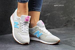 Женские кроссовки New Balance 996 бежевые